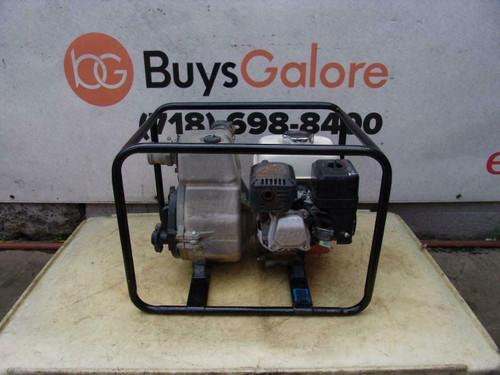 Tsurumi Trash Water Pump 2 inch Honda Motor Works Great  #3