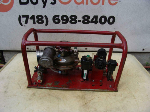 Barbee Engineered Hydrostatic Tester Works Fine Rice   #1