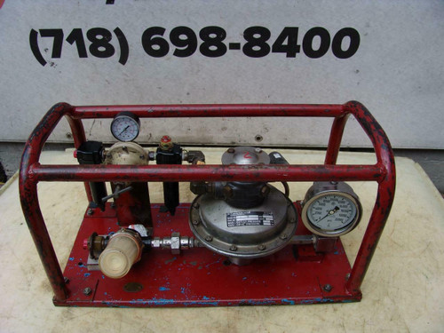 Barbee Engineered Hydrostatic Tester Works Fine Rice   #2