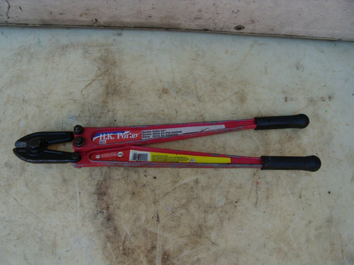 HK Porter 24 inch Bolt Cutter Very Good Condition.