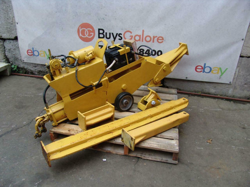 Mity Mite Hydraulic Cable Pipe Puller Works Well