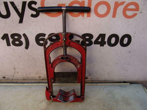 Reed HPC-4 Guillotine Pipe Cutter Saw PVC McElroy Needs a Blade