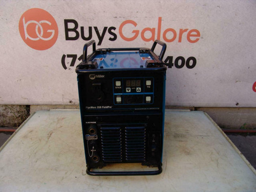 Miller PipeWorx 350 FieldPro Welder 1 or 3 Phase 230/460/575 Volts Nice Unit #4