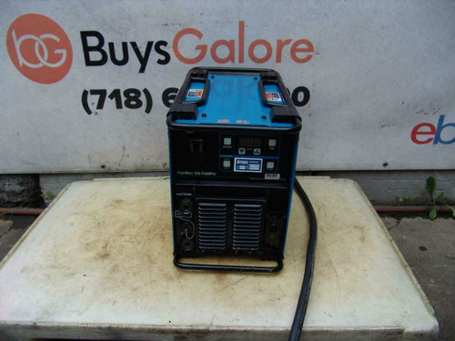 Miller PipeWorx 350 FieldPro Welder 1 or 3 Phase 230/460/575 Volts Nice Unit #1A