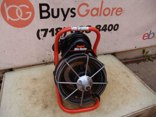 """General Wire Mini-Rooter XP 1/2"""" x 50' Cable Sewer Line Cleaning Drain #2"""