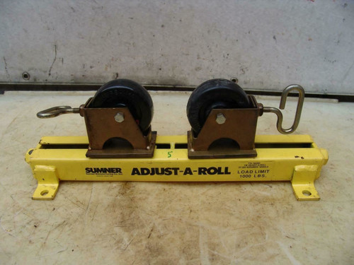 Sumner Table Adjust-A-Roll with Roller Wheels Great Shape  #5