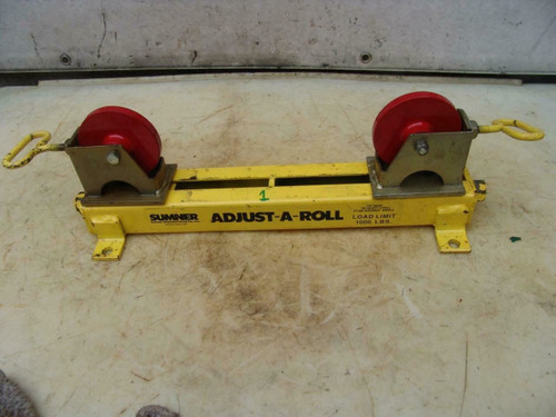 Sumner Table Adjust-A-Roll with Roller Wheels Great Shape  #1