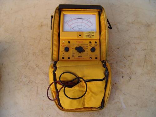 Simpson Electric 260 Multimeter Meter Works Fine #2