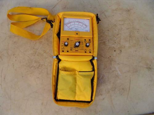 Simpson Electric 260 Multimeter Meter Works Fine