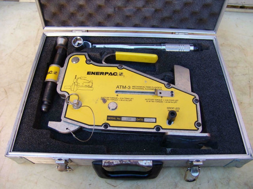 Enerpac ATM-3 Hydraulic Fixed Flange and Rotational Alignment Tool ATM3   #1