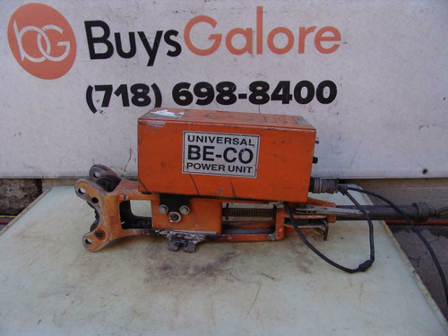 Jetline Be-Co Power Unit Welding Equipment Welder 120 Volts Works Fine  #2