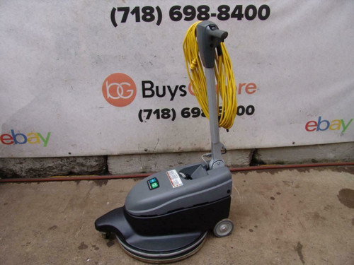 Tennant Nobles BR-2020-DC Dust Control Burnisher 20 inch 120 volts Works Great
