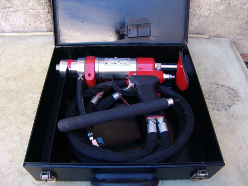 CENTRAL PNEUMATIC HYDRAULIC CORE DRILL NEW CONDITION