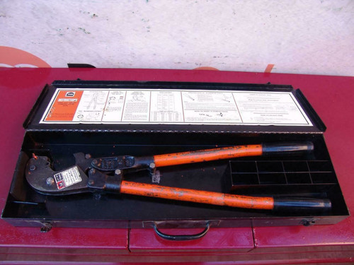 Thomas & Betts TBM6 Cable Wire Crimper Works Fine #2
