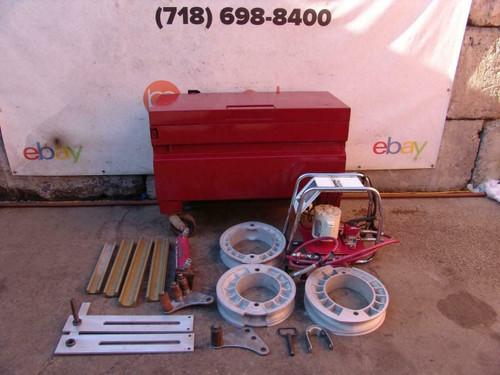 GB Gardner Bender Enerpac Mini Eegor hydraulic pipe bender 1 1/4  1 1/2  2 inch