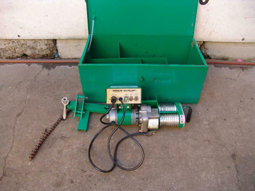 Greenlee 805 Cable Wire Fiber Optic Puller Works Well #1
