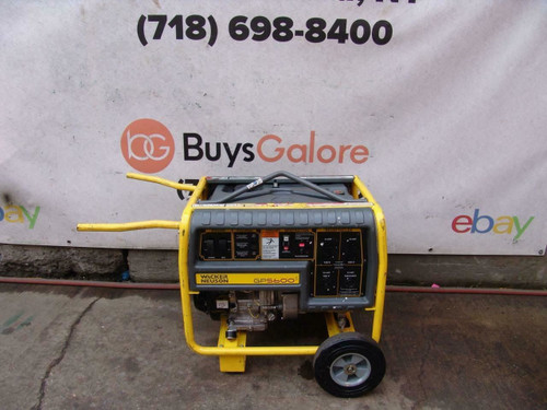 Wacker GP5600 5600 Watts Generator Honda Motor  120/240 Volts Works Great  #1