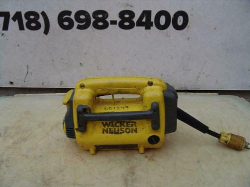 Wacker M1000 Concrete Vibrator Works Fine