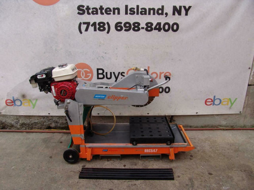 Norton Clipper BBC547 Masonry Concrete Tile Block Paver Saw Honda Motor Great  2