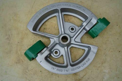 Greenlee 1 1/4 & 1 1/2 Rigid Shoe for 1818 Conduit Pipe Bender Great Shape bg2