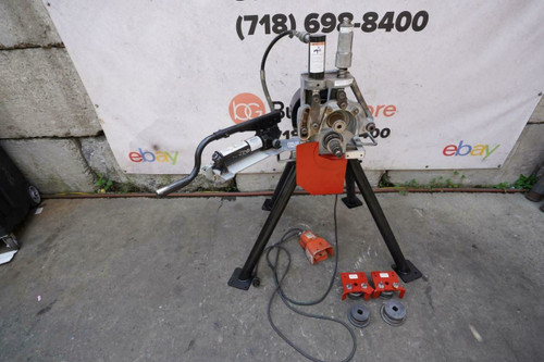 Victaulic VE 272-FSD Hydraulic Electric Roll Groover 2 to 12 inch Works Great bg3