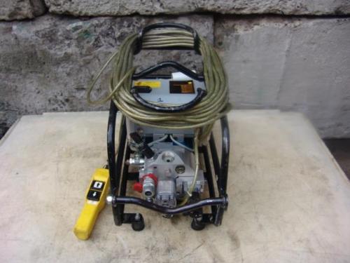 PLARAD HYDRAULIC ELECTRIC TORQUE PUMP CTK6-EHS  10, 000 PSI WORKS FINE