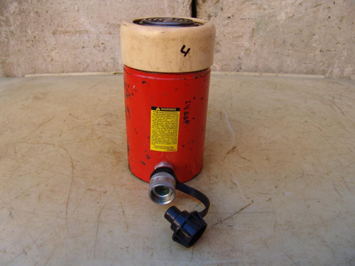 SPX Power Team C554C Single Acting HYDRAULIC Cylinder 55 Ton WORKS GREAT #3