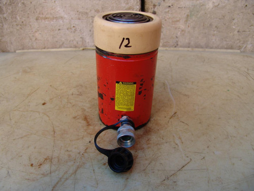 SPX Power Team C554C Single Acting HYDRAULIC Cylinder 55 Ton WORKS GREAT #12