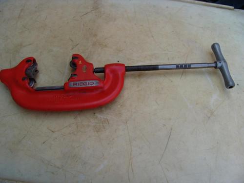RIDGID 44-S  PIPE CUTTER 2 1/2 to 4 inch NICE SHAPE #1