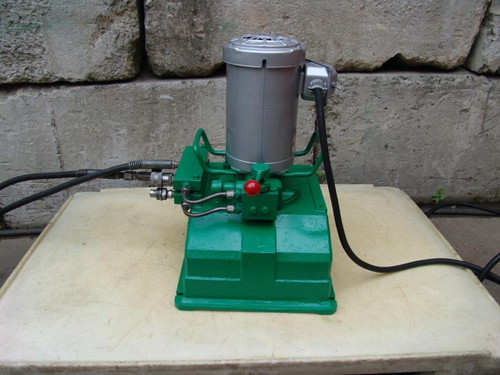 SIMPLEX HYDRAULIC PUMP 10,000 PSI 120 VOLTS  WORKS FINE #2