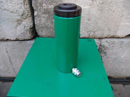 SIMPLEX HYDRAULIC CYLINDER RLN-5010 50 TON 10 INCH STROKE WORKS FINE