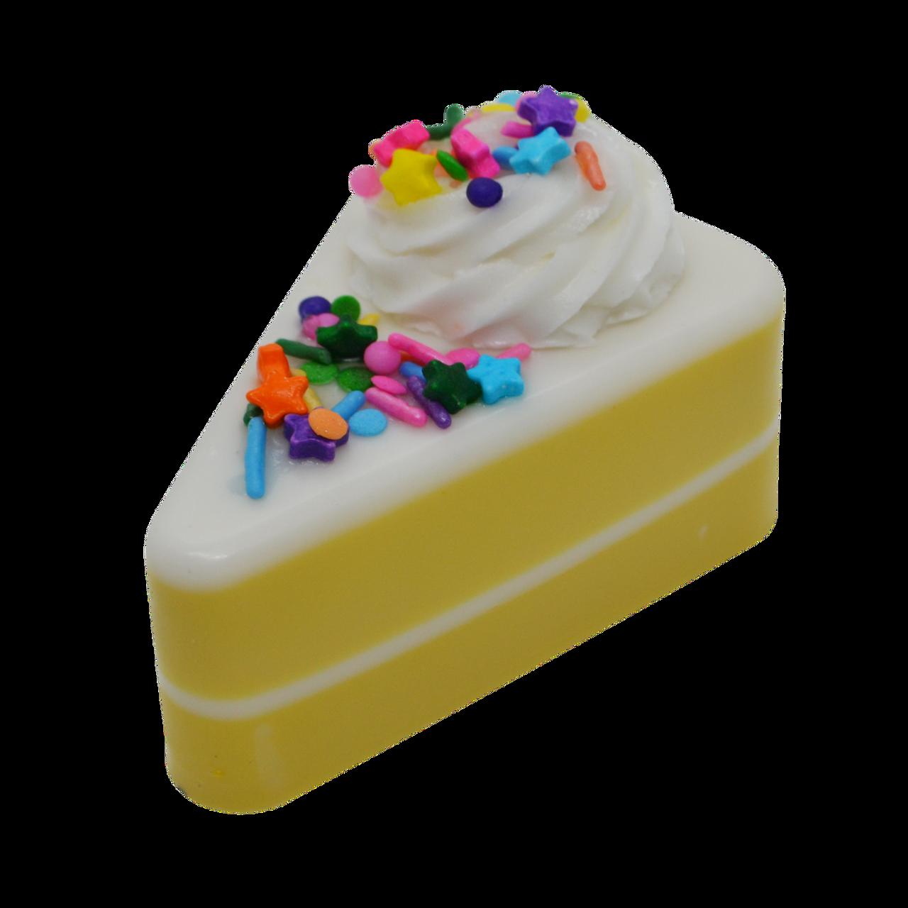 Magnificent Birthday Cake Slice Soap Boston Creations Llc Personalised Birthday Cards Akebfashionlily Jamesorg