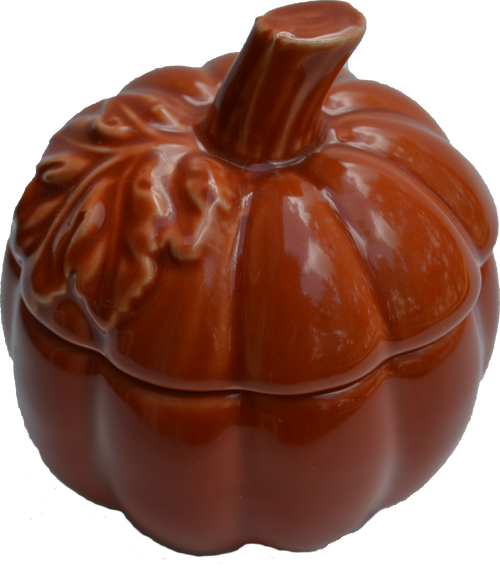 Small Pumpkin Jar Candle