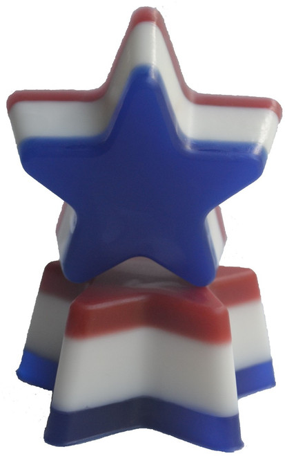 Patriotic Star Soap