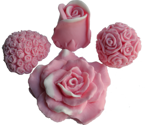 Pink Flower Set Soap