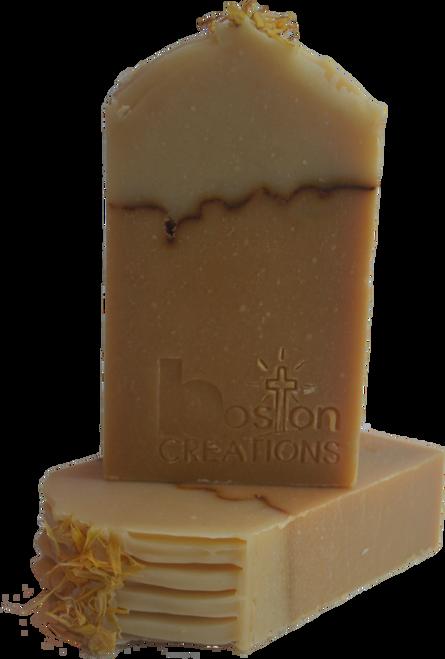 Orange Calendula Handmade Soap