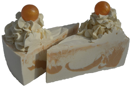 Royal Gold Cake Slice Soap
