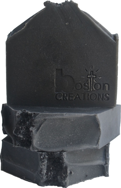 Smoke Without Fire Handmade Soap Charcoal Handmade Soap
