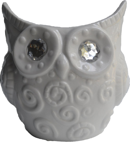Large Owl Jar Candle