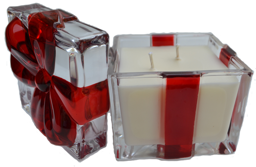 Decorative Crystal Gift Box Candle