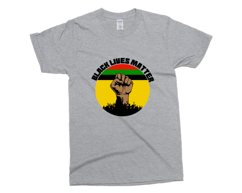 Black Lives Matter T-Shirt | Circle