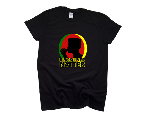 Black Lives Matter T-Shirt | Man