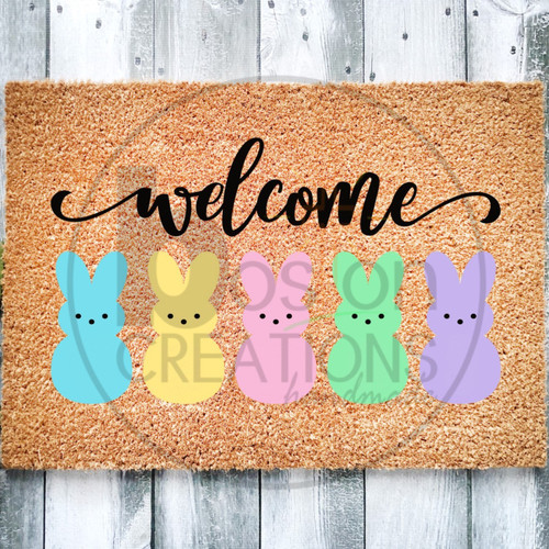 Easter Door Mat