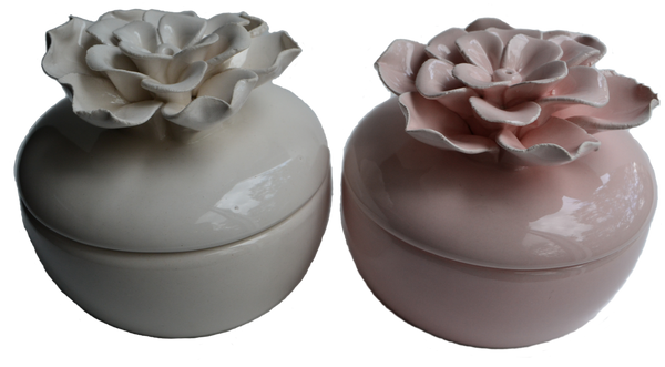 Flower Pot Soy Candle