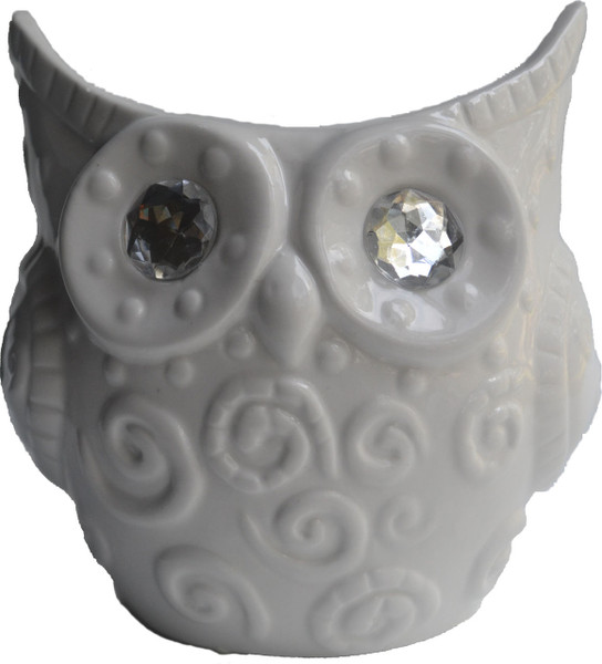 Large Owl Jar Candle