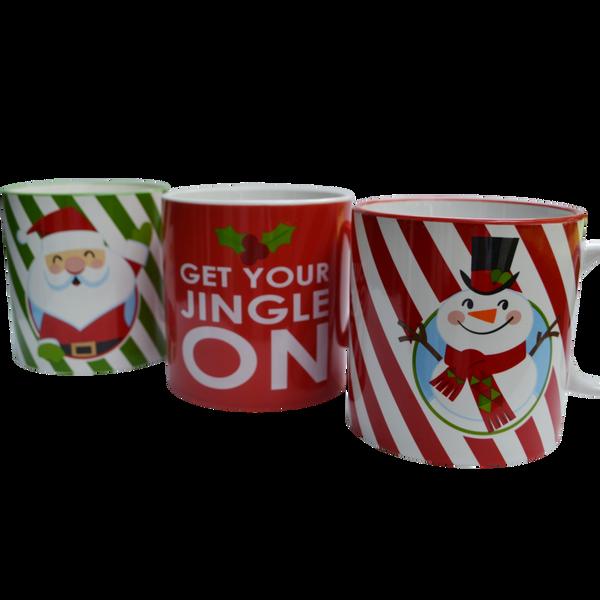 Christmas | Holiday Mug Candle