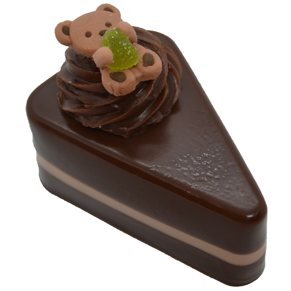 Chocolate Cake Slice Soap