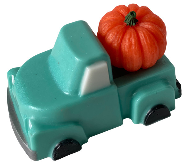 Teal Farm Truck Fall Pumpkin Soap