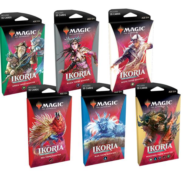 Ikoria: Lair of Behemoths - Theme Booster [Set of 6] (Ikoria: Lair of Behemoths) - Unopened