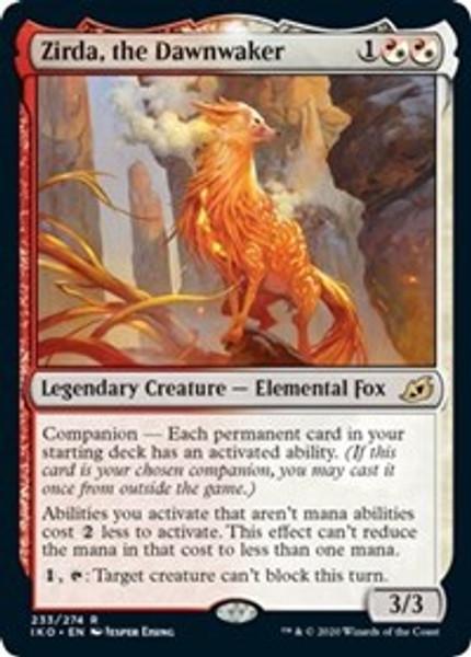 Zirda, the Dawnwaker (Ikoria: Lair of Behemoths) - Near Mint